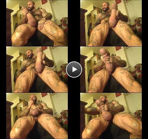 muscle monster cock video